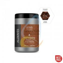 ALLWAVES Маска - силно подхранваща с шоколад и кератин