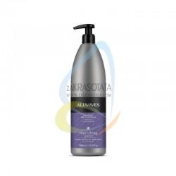 ALLWAVES Подхранващ шампоан за боядисана коса с екстракт от невен и боровинка