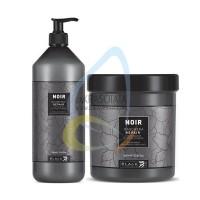 Възстановяващ шампоан и маска със сок от кактус, Black NOIR