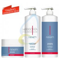 Пакет FADIAM за боядисана коса - шампоан, балсам и маска