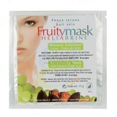 Ексфолираща маска за лице с какао и семена от грозде, Heliabrine