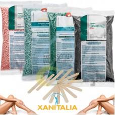 Пакет СТАРТ - пластична кола маска на гранули, Xanitalia