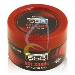 Гел за коса с дълготрайна фиксация и моделиране, Farcom 555