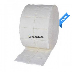 Тампони за почистване на лак, еднократни, 2 ролки по 500 броя